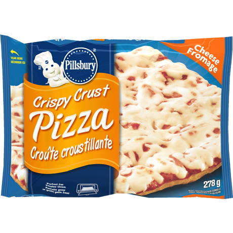 Crispy Crust Cheese Pizza Packet of 278g